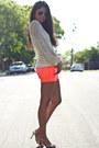 Neon-frayed-big-star-usa-shorts-knitted-vintage-jumper-unknown-bracelet