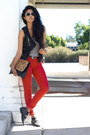 Red-skinny-jeans-flying-monkey-jeans-dark-gray-acid-wash-pixie-market-vest