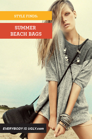 black straw beach Rebecca Minkoff bag