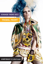 TRIBAL PRINT: SUMMER TREND 2011