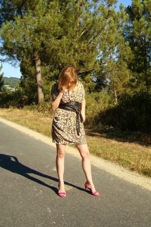 Lady Marshmallow dress - Zara heels