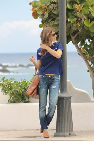 balenciaga bag - Dolce & Gabbana jeans - Zara t-shirt