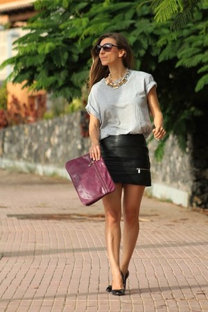 Stefanel bag - Zara skirt