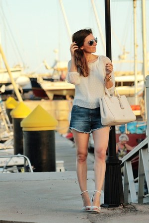 Zara blouse - Zara shorts