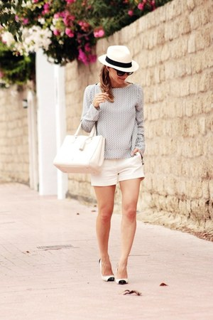 Zara shorts - Zara blouse