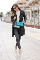 H&M coat - Maje jeans