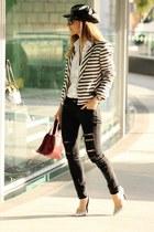 Maje blazer - Mango jeans - Mango heels