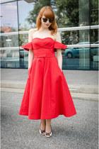 red vika gazinskaya & other stories dress