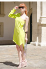 Lime-green-asymmetrical-asos-dress-silver-mini-5-zip-rebecca-minkoff-bag