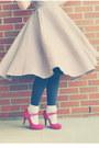 Mary-janes-oasap-shoes-bow-dress-eshakti-dress-bow-headband-claires-hat