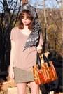 Tawny-farylrobin-boots-black-headscarf-vintage-scarf-carrot-orange-carpet-vi