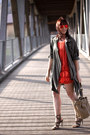 Burnt-orange-sammydress-dress-tan-persunmall-bag