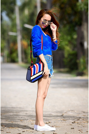 blue inlovewithfashion sweater - blue Jump From Paper bag