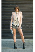 Camilla and Marc jacket - acne shoes - vintage shirt
