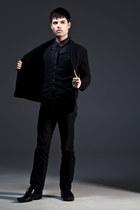 black Aldo Shoes shoes - black Guess jeans - dark gray Esprit shirt