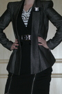 White-h-m-t-shirt-black-river-island-jacket-black-warehouse-skirt-beige-pe