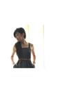 Polkadot-thrift-store-dress-brown-forever-21-heels