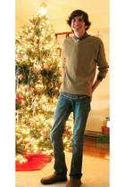 Morbid Metals accessories - George shoes - Gap jeans - Perry Ellis sweater - Ame