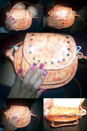orange Gossip bag