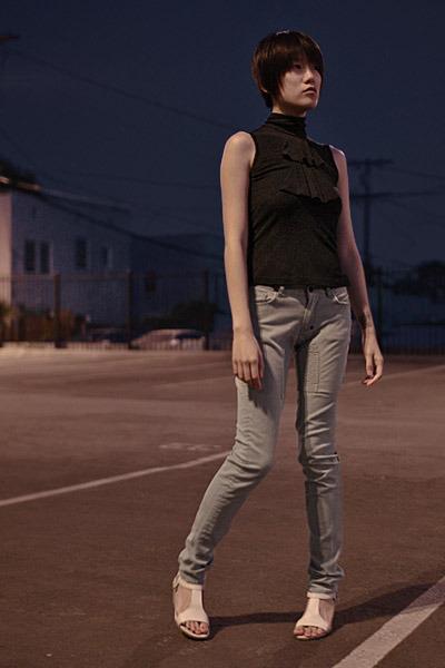 LAMB top - Hellz Bellz jeans - camper shoes
