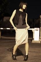 Rose vest - VPL top - VPL skirt - Rachel Comey boots
