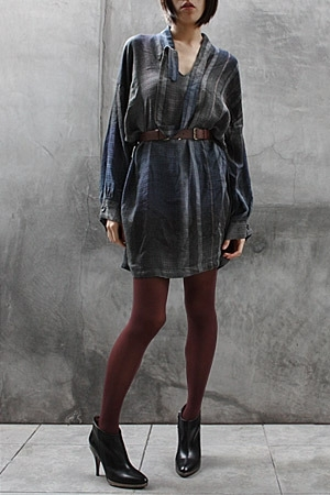 Eksempel dress - Wolford leggings - Rachel Comey belt - Hugo Boss boots