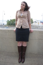 Gap shirt - Express skirt - franco sarto shoes