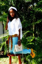 YSL heels - bag