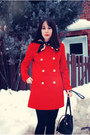 Red-mango-coat-camel-forever-21-boots-black-forever-21-tights