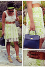 Ivory-sugarlips-dress-navy-coach-bag-brown-floral-print-target-sunglasses
