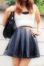 Black-leather-skirt-murua-skirt-ivory-kutsushitaya-socks