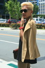 Black-thrifted-cheung-hing-boots-camel-day-jacket-thrifted-jacket-black-trap