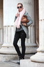 Black-choies-boots-charcoal-gray-sheinside-coat-black-jeans