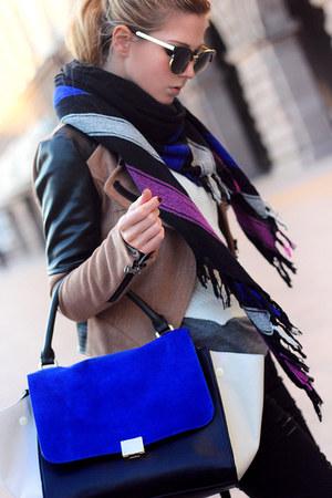 magenta ISABEL MARANT POUR H&M scarf - black Stradivarius jeans