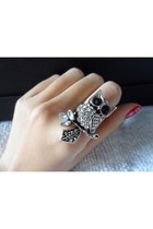 owl ring street fashion accessories