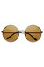 round metal zeroUV sunglasses