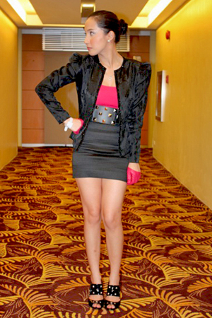 loveculturemultipycom blazer - Topshop top - skirt - random from Hong Kong shoes