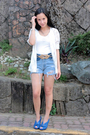 Thrifted-blazer-uo-shorts-glitterati-belt-gojanecom-shoes