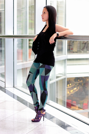Gap vest - Joannes leggings - gojanecom shoes