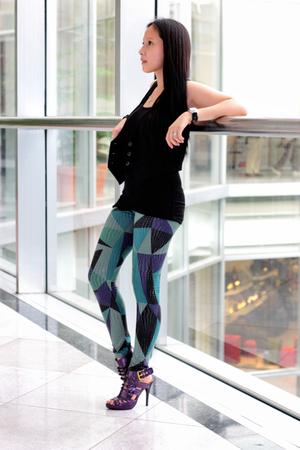 Gap vest - Joannes leggings - gojanecom shoes