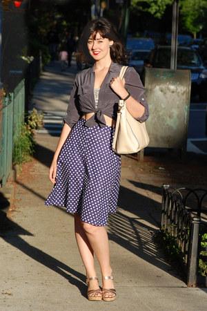 a line vintage skirt
