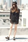 Black-oxfords-deandri-shoes-black-polka-dot-banggood-dress